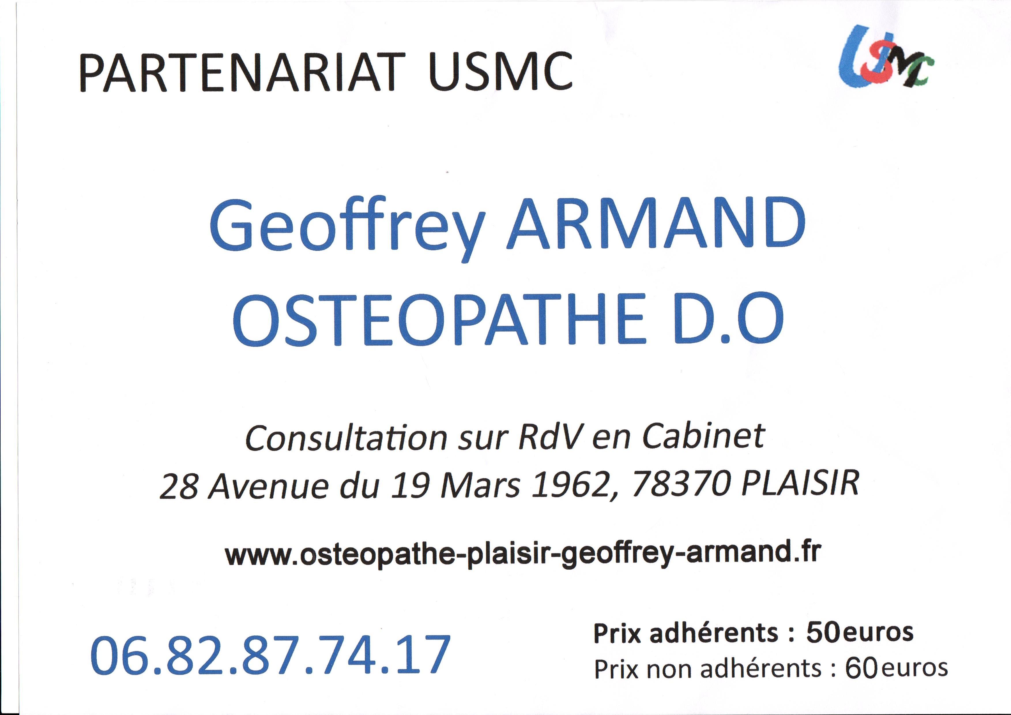 PARTENARIAT OSTEOPATHE